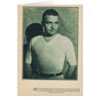 Richard Barthelmess 1929 Card