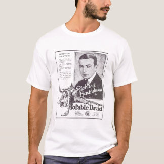 Richard Barthelmess Tol'Able David silent movie ad T-Shirt