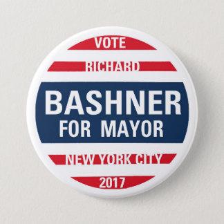 Richard Bashner for Mayor Button