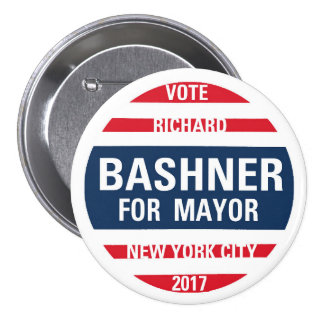 Richard Bashner for Mayor Button