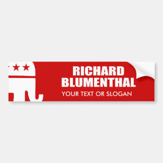 RICHARD BLUMENTHAL FOR SENATE BUMPER STICKER