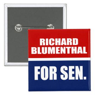 RICHARD BLUMENTHAL FOR SENATE BUTTON