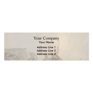 Richard Bonington- Boats by the Normandy Shore Business Cards
