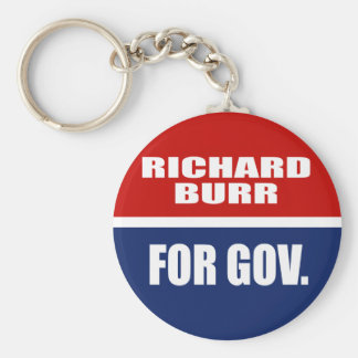 RICHARD BURR FOR SENATE KEY CHAINS