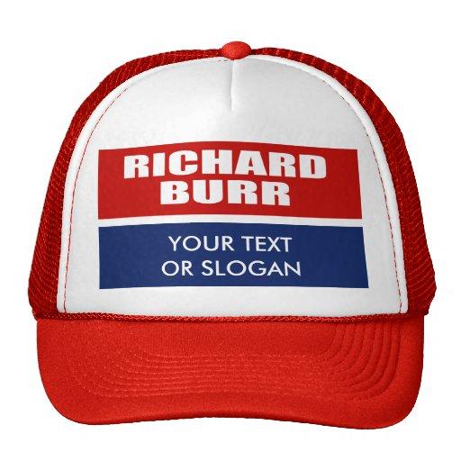 RICHARD BURR FOR SENATE TRUCKER HAT