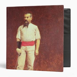 Richard Burton  in Fencing Dress, 1889 Vinyl Binder