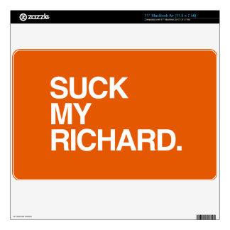 RICHARD CALCOMANÍA PARA MacBook