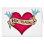 Richard - camisetas y regalos de encargo del tatua felicitacion