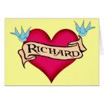 Richard - camisetas y regalos de encargo del tatua felicitaciones