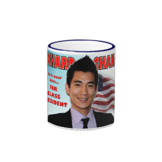 Richard Chan For Class President Mug
