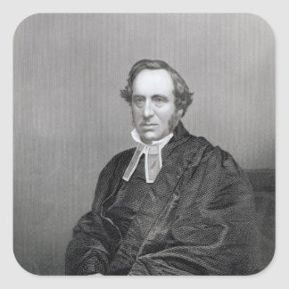 Richard Chenevix Trench, engraved by D.J Pound Square Sticker