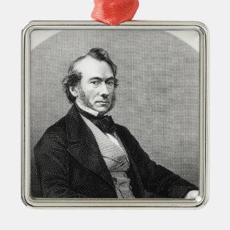 Richard Cobden Metal Ornament
