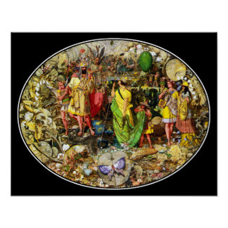 Richard Dadd Faeries: Oberon & Titania Poster
