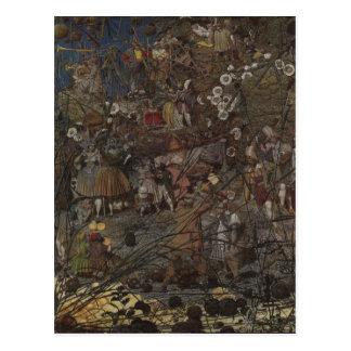 Richard Dadd's The Fairy Feller's Master-Stroke Postcard