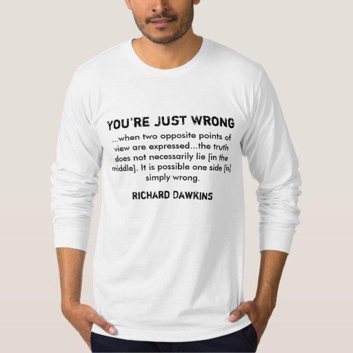 Richard Dawkins on Truth T Shirt
