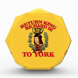 Richard de vuelta el tercero a York
