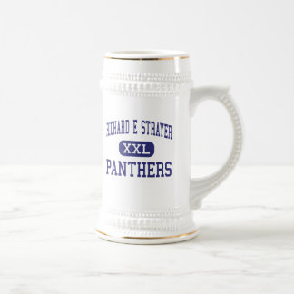 Richard E Strayer Panthers Middle Quakertown 18 Oz Beer Stein