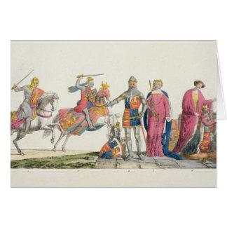 Richard el Lionheart, Juan de flaco, Edward III, Tarjeta De Felicitación