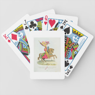 Richard Fitzhugh, Constable of Chester and Standar Bicycle Playing Cards