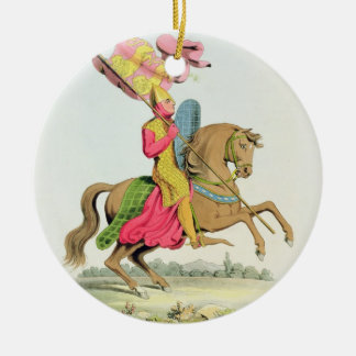 Richard Fitzhugh, Constable of Chester and Standar Ceramic Ornament