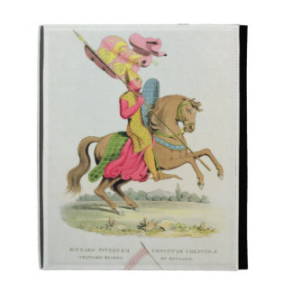Richard Fitzhugh, Constable of Chester and Standar iPad Cases