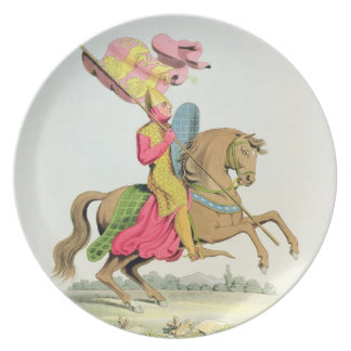 Richard Fitzhugh, Constable of Chester and Standar Melamine Plate