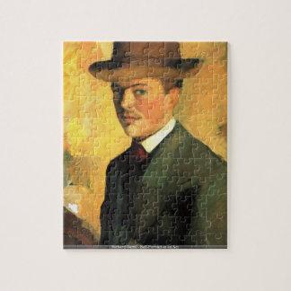 Richard Gerstl - autorretrato como rompecabezas de