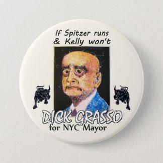 Richard Grasso NYC Mayor 2013 Pinback Button