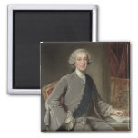 Richard Grenville, Earl Temple, c.1760 2 Inch Square Magnet