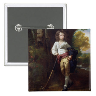 Richard Heber, 1782 (oil on canvas) Pinback Buttons