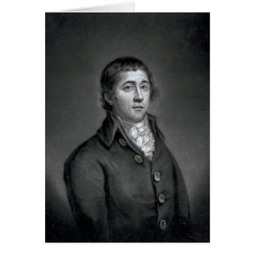 Richard Humphries, engraved by John Young, 1788 Greeting Card