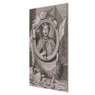 Richard I 'Coeur de Lion' (1157-99) King of Englan Canvas Print