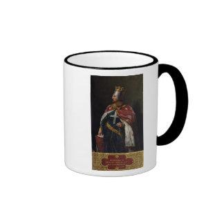 Richard I el rey de Lionheart de Inglaterra, 1841 Taza