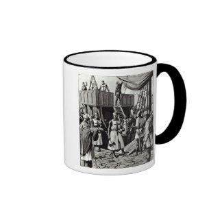 Richard I fija la vela para la Tierra Santa, 1939 Tazas De Café