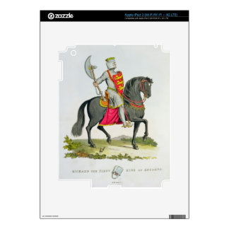Richard I, King of England (1157-99), 1194, from ' Decals For iPad 3
