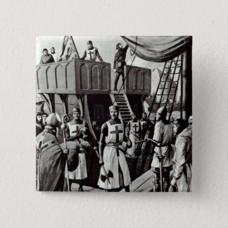 Richard I sets sail for the Holy Land, 1939 Pinback Button