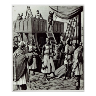 Richard I sets sail for the Holy Land, 1939 Poster