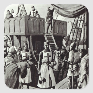 Richard I sets sail for the Holy Land, 1939 Sticker
