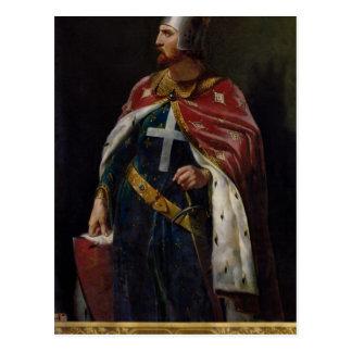 Richard I the Lionheart  King of England, 1841 Postcard