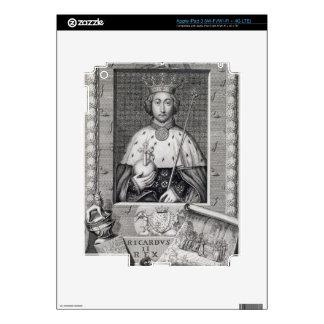 Richard II (1367-1400) King of England 1377-99, af Decals For iPad 3
