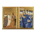 Richard II Presented to the Virgin and Child Canvas Prints
