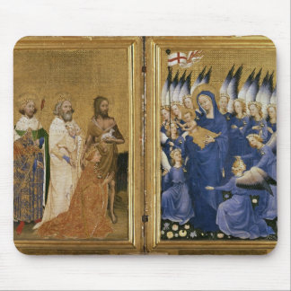 Richard II Presented to the Virgin and Child Mouse Pad
