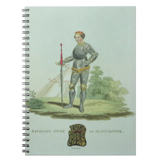 Richard III (1452-85) 1470, grabado por W. Maddock Notebook