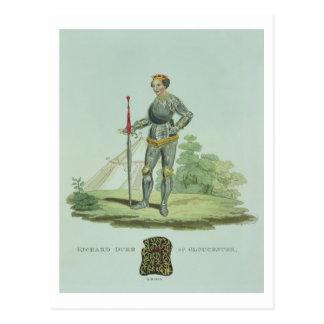 Richard III (1452-85) 1470, grabado por W. Maddock Postal