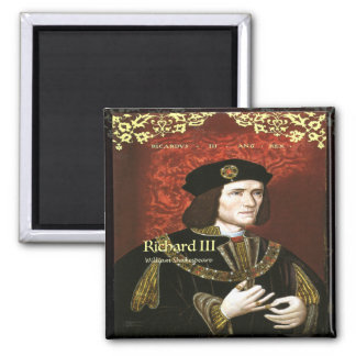 Richard III 2 Inch Square Magnet