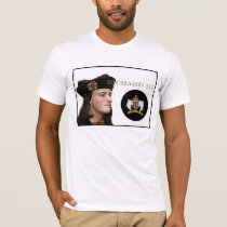 Richard III and his White Boar Badge T-Shirt