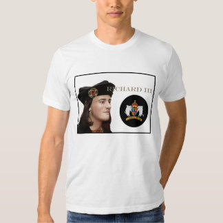 Richard III and his White Boar Badge Tee Shirt