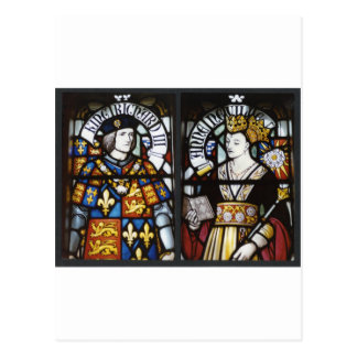 RICHARD III AND QUEEN ANNE OF ENGLAND POST CARDS