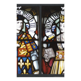 RICHARD III AND QUEEN ANNE OF ENGLAND STATIONERY