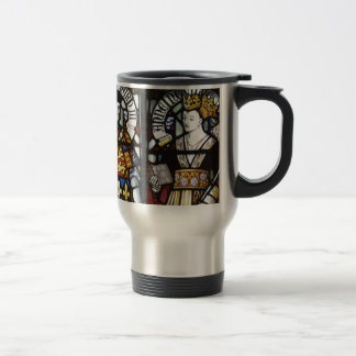 RICHARD III AND QUEEN ANNE OF ENGLAND TRAVEL MUG
